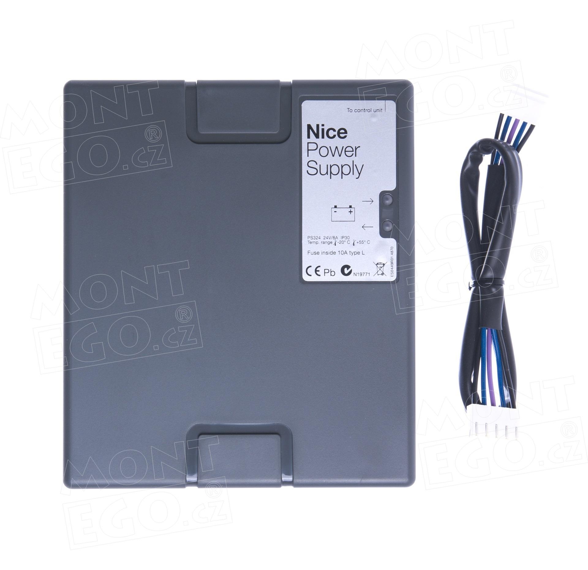 PS324 záložní zdroj s akumulátorem na 24V pro jednotku MC824H