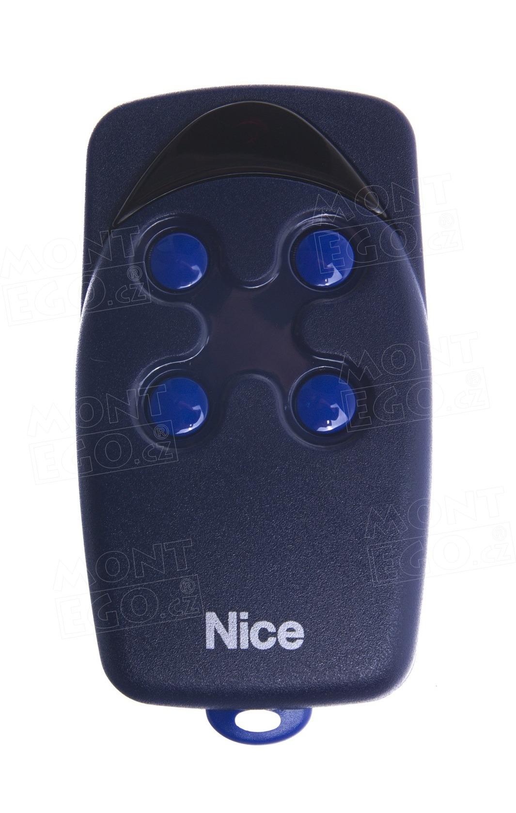 Nice FLO4 ovládač pro 4 vrata, pevný kód, 4 kanálový, originál Nice