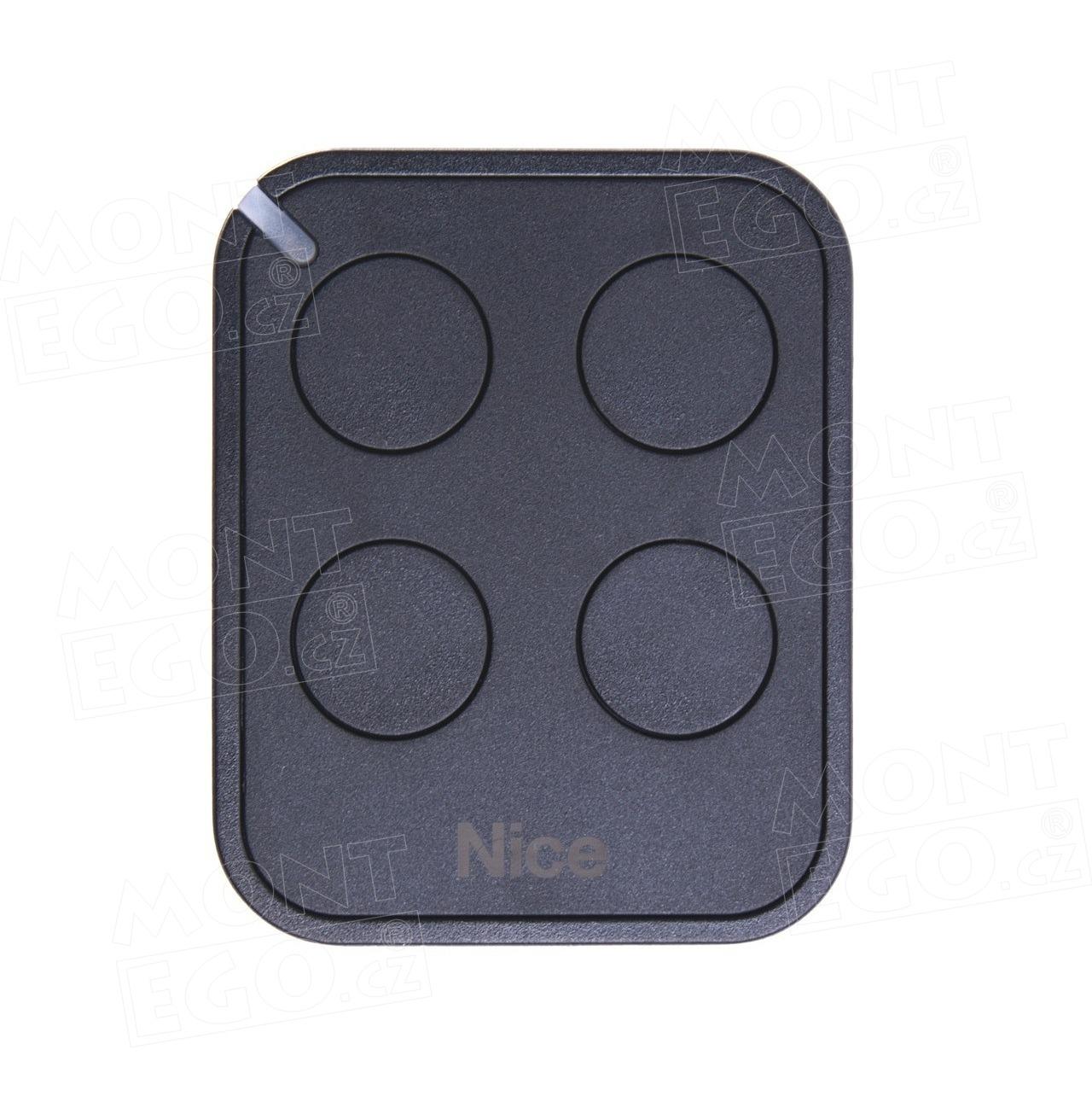 Nice FLO4RE dálkový ovladač 4 tlačítkový Nice ERA Flo4R-E, náhrada za Nice FLOR-S, FLO4R-S