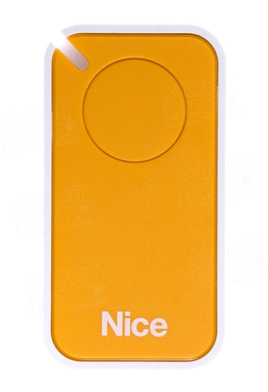 Dálkový ovladač Nice INTI1Y, jednokanálový, žlutý, Nice ERA INTI