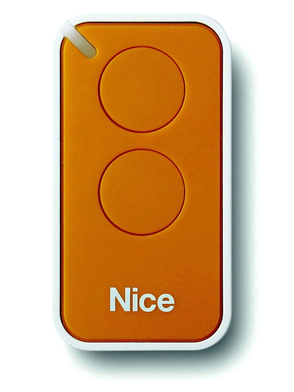 Dálkový ovladač Nice INTI-2Y, dvoukanálový, žlutý, Nice ERA INTI