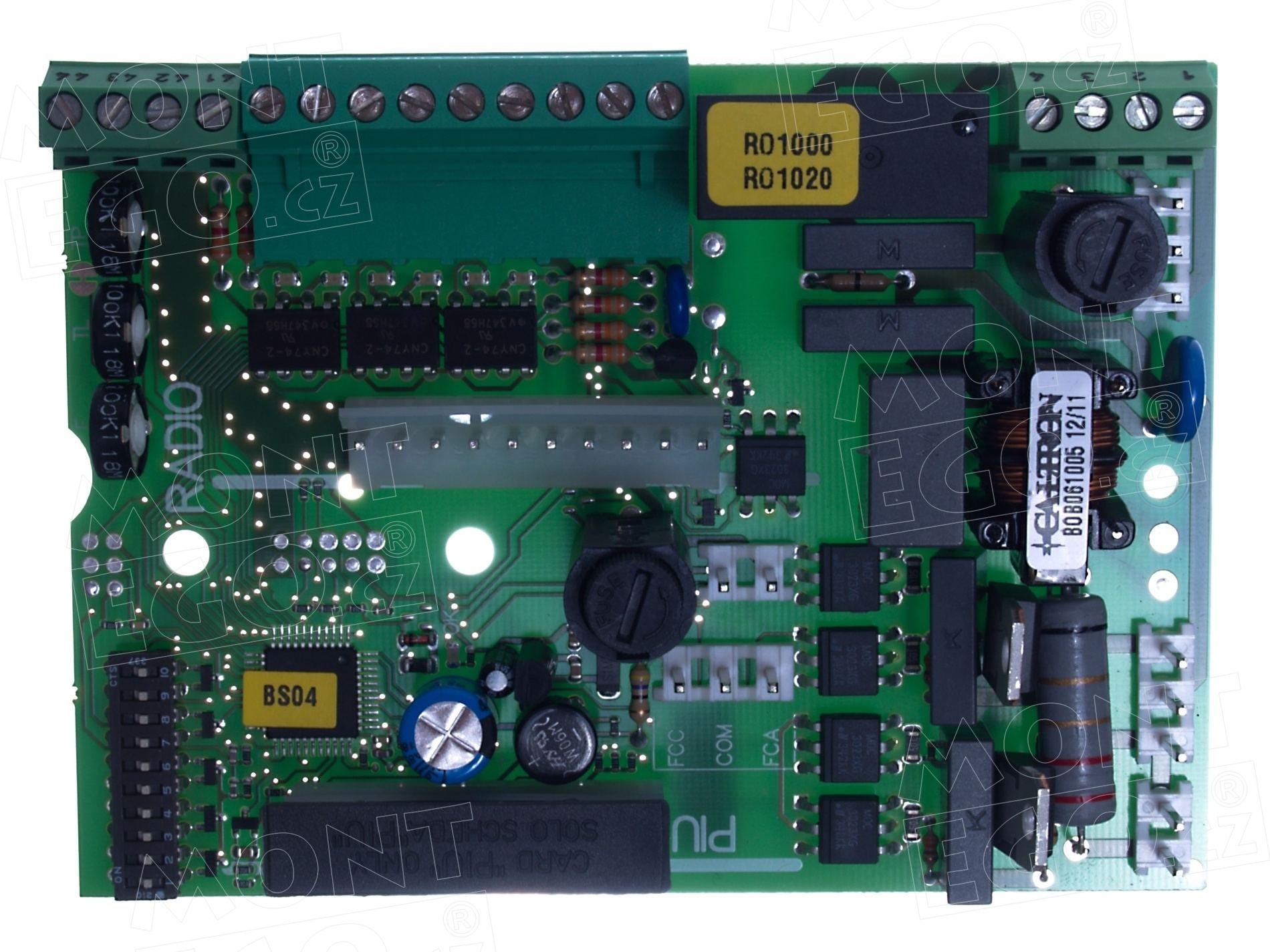 ROA3 náhradní řídící jednotka do pohonu Nice RO1000, Robo 1000
