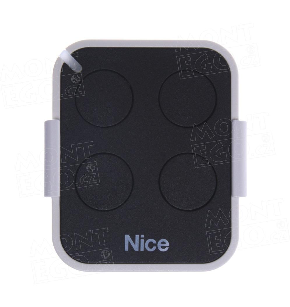 Nice ON4E 4 kanálový dálkový ovladač pro vrata a brány, náhrada za Nice Flo4r-s i Flo4RE