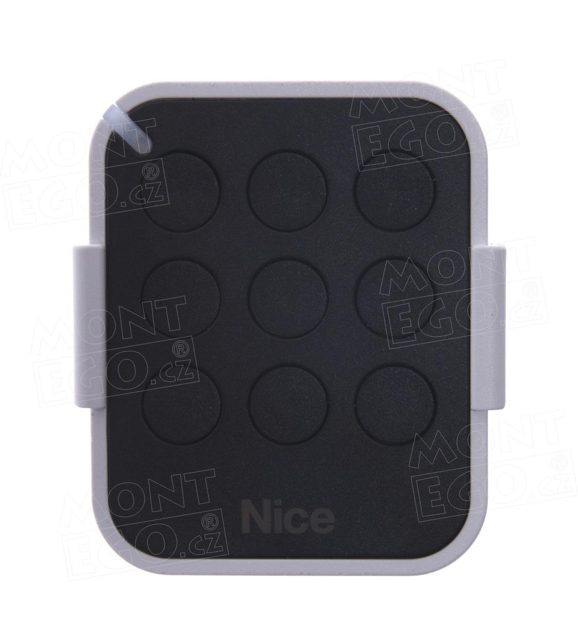Nice ON9E 9 kanálový dálkový ovladač pro pohony vrat, náhrada za Nice ON9