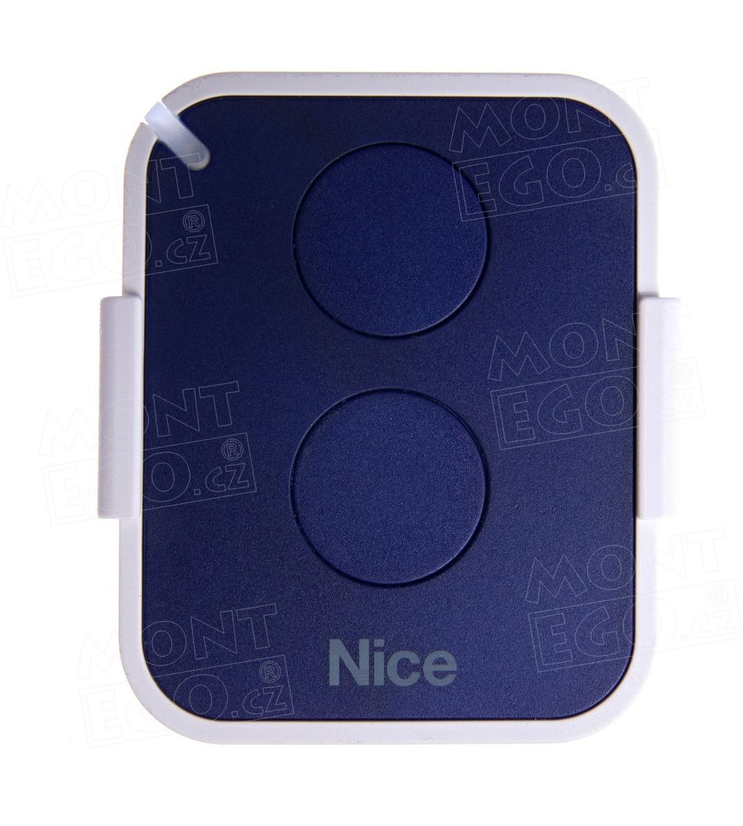 Nice ON2EFM 2 kanál. dálkový ovladač pohonů Nice pro místa s rušením signálu, 868,46 MHz