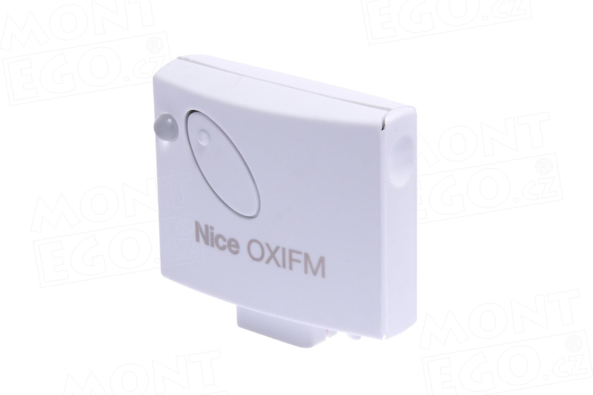 Nice OXIFM zásuvný přijímač dálkového ovládání Nice, pl. kód, 868,46 MHz