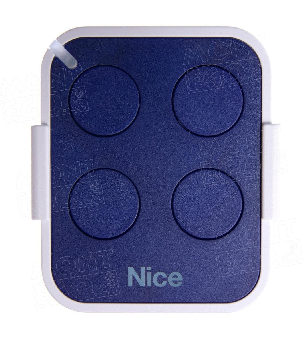 Nice ON4EFM 4 kanálový dálkový ovládač pro místa s zarušeným signálem, frekvence 868,46 MHz