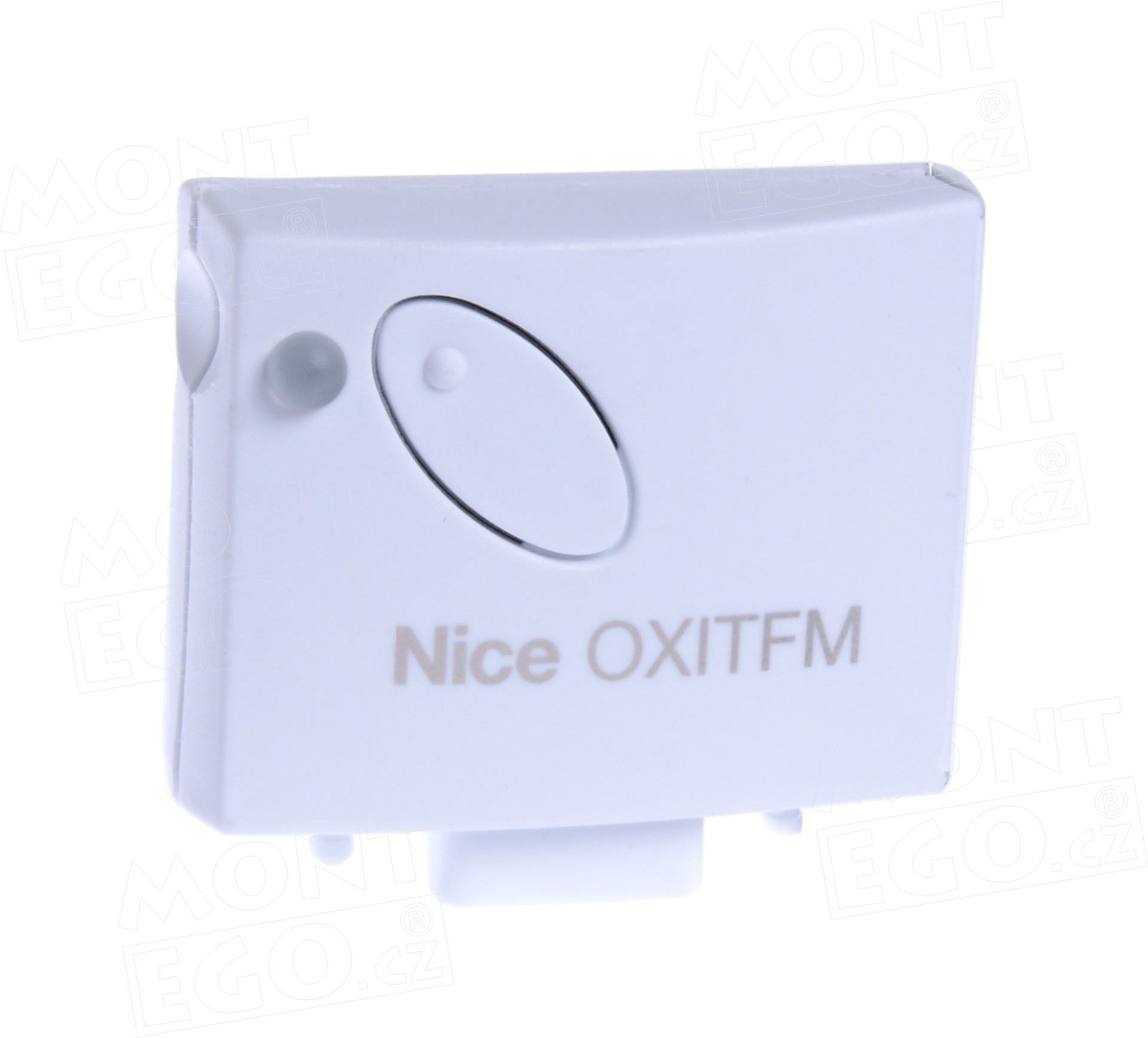 Nice OXITFM zásuvný přijímač s opakovačem signálu dálkového ovládání Nice, pl. kód, 868,46 MHz