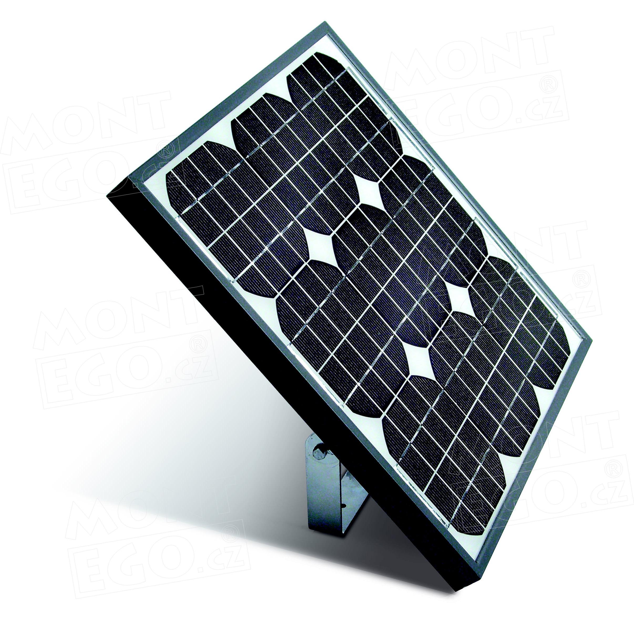 Nice SYP 15W fotovoltaický panel pro napájení pohonů brány, vrat a závory, Nice Solemyo