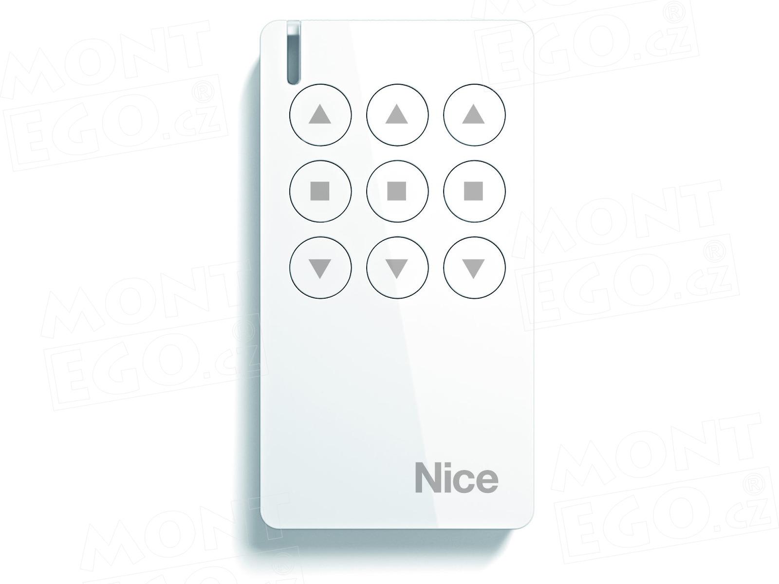 Nice MW3 mini dálkový ovládač pro markýzy s pohony Nice