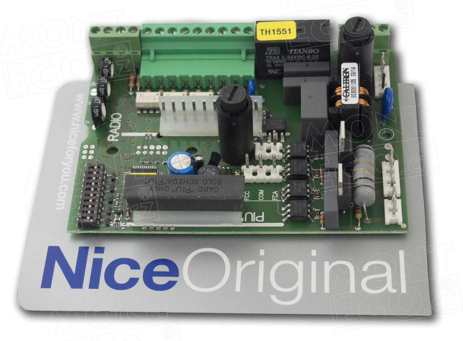 Nice THA5 řídící jednotka pohonu posuvné brány Nice Thor TH1551