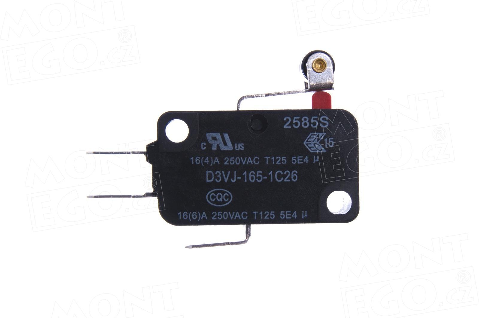 MICROI-F.1617 mikrospínač pro pohony vrat Nice SPIDER a SPIDO