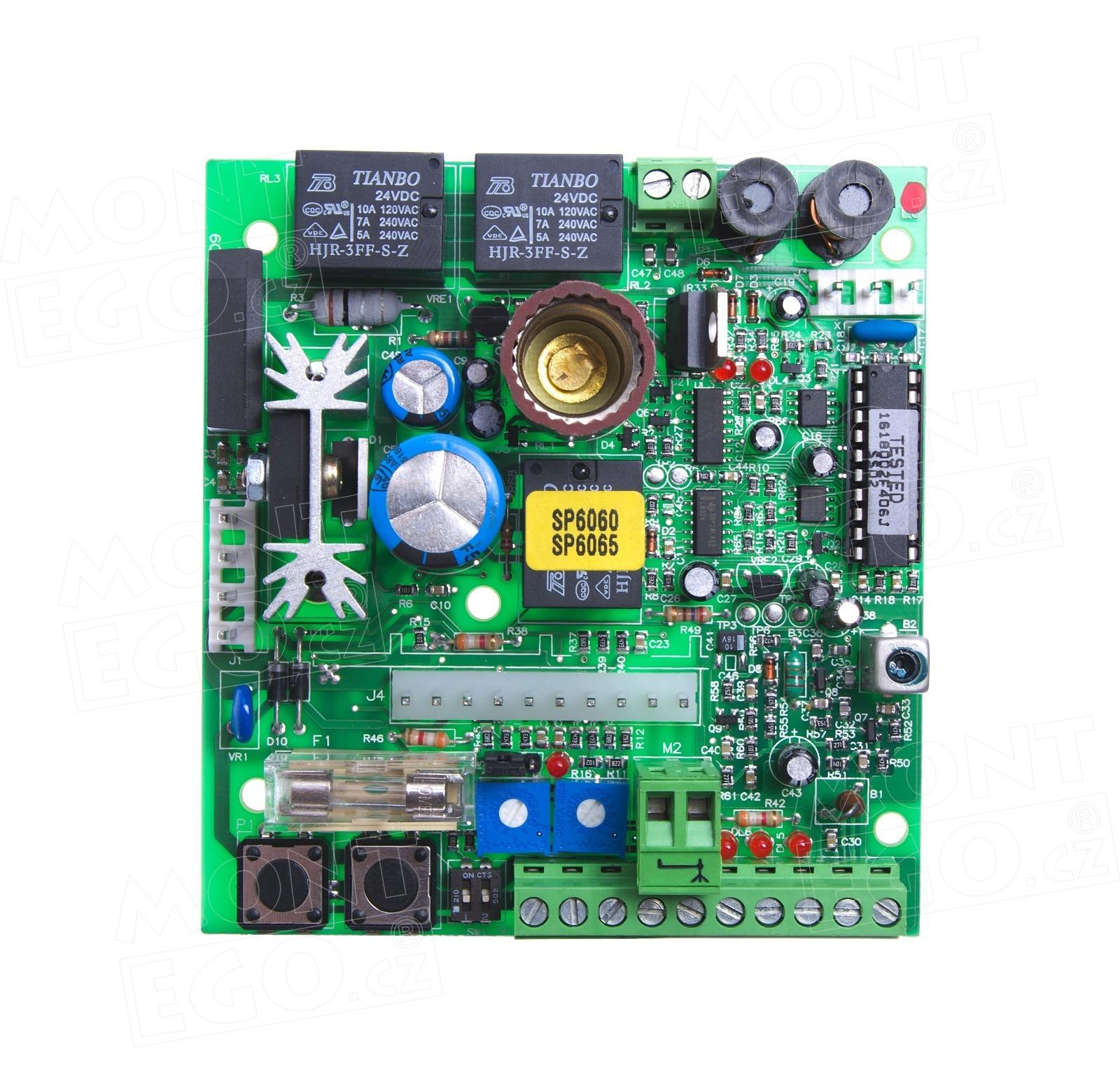 SPA20 řídící jednotka pohonu vrat Nice SPIDER 6060 i 6065