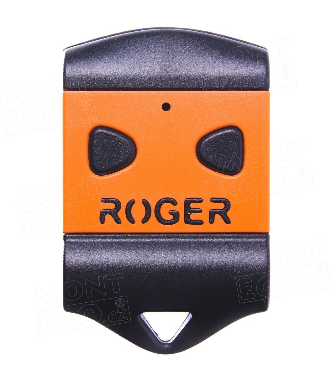 Dálkový ovladač Roger TX22, 2 kanálový ovladač, 433,92 MHz
