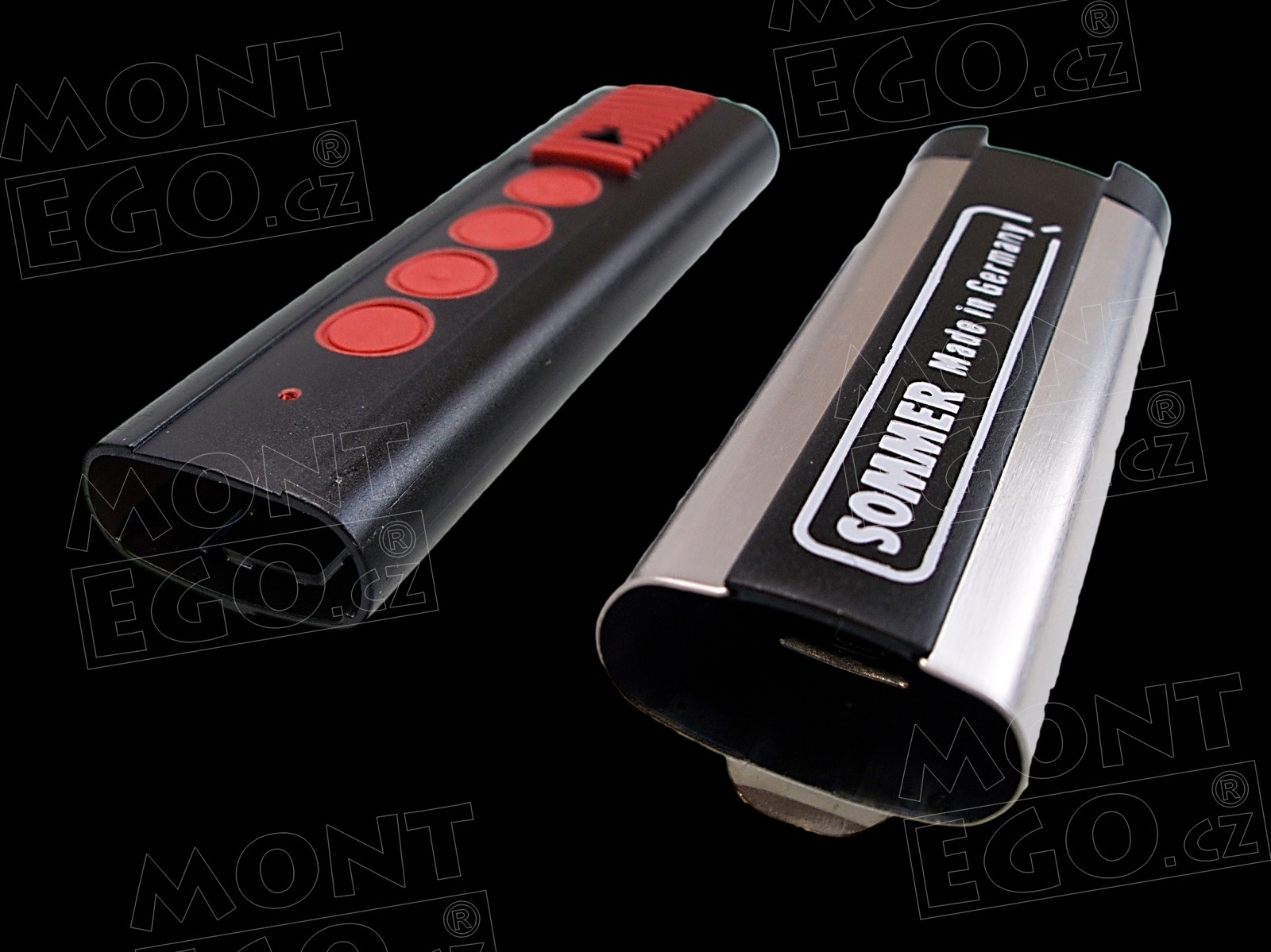 Náhradní obal, náhradní pouzdro pro 4 kanál. výsuvný ovladač Sommer TX03-868-4