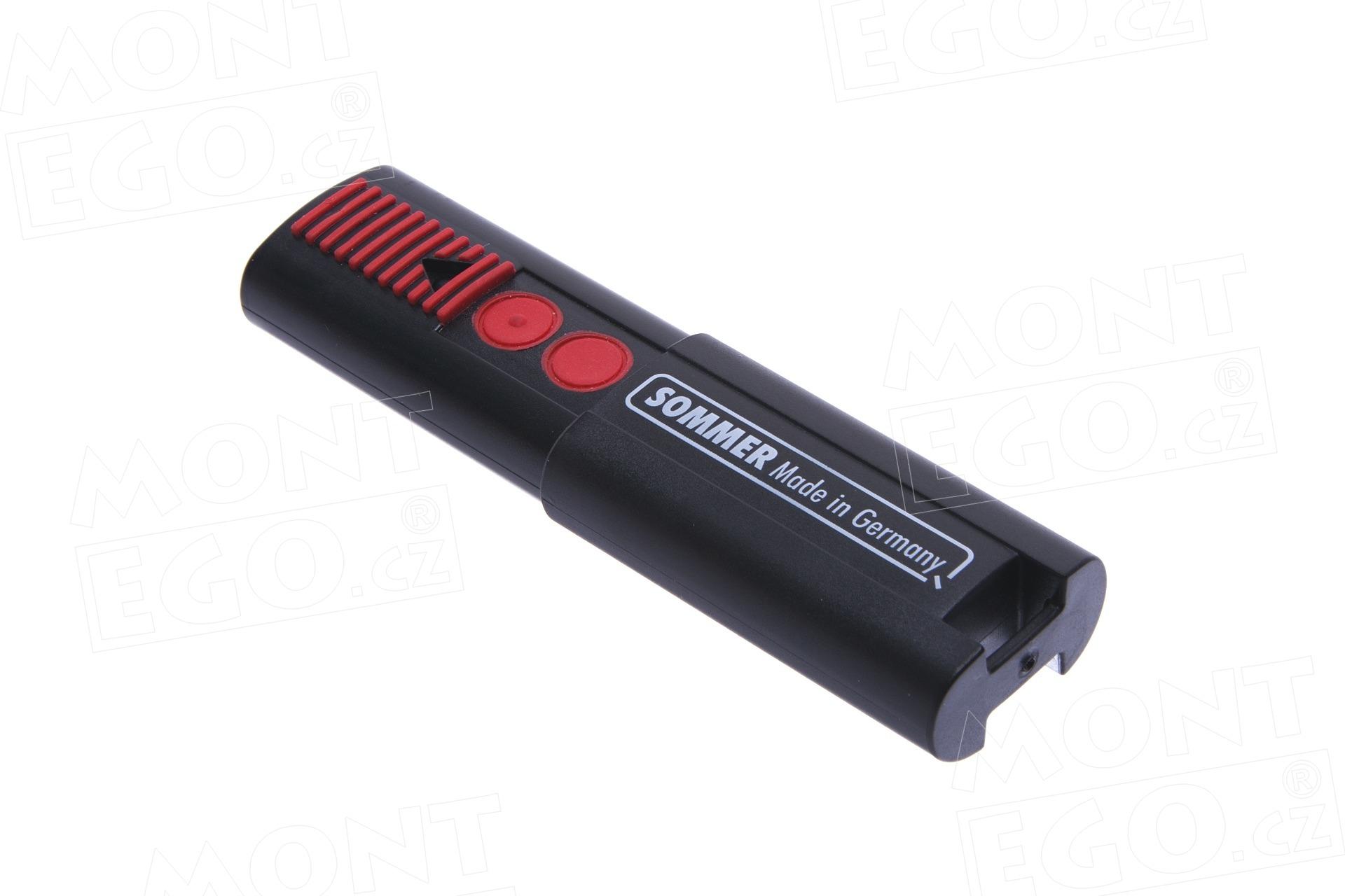 Univerzální dálkový ovladač Sommer 868,8 Mhz, 2 kanálový,originál, TX03-868-4
