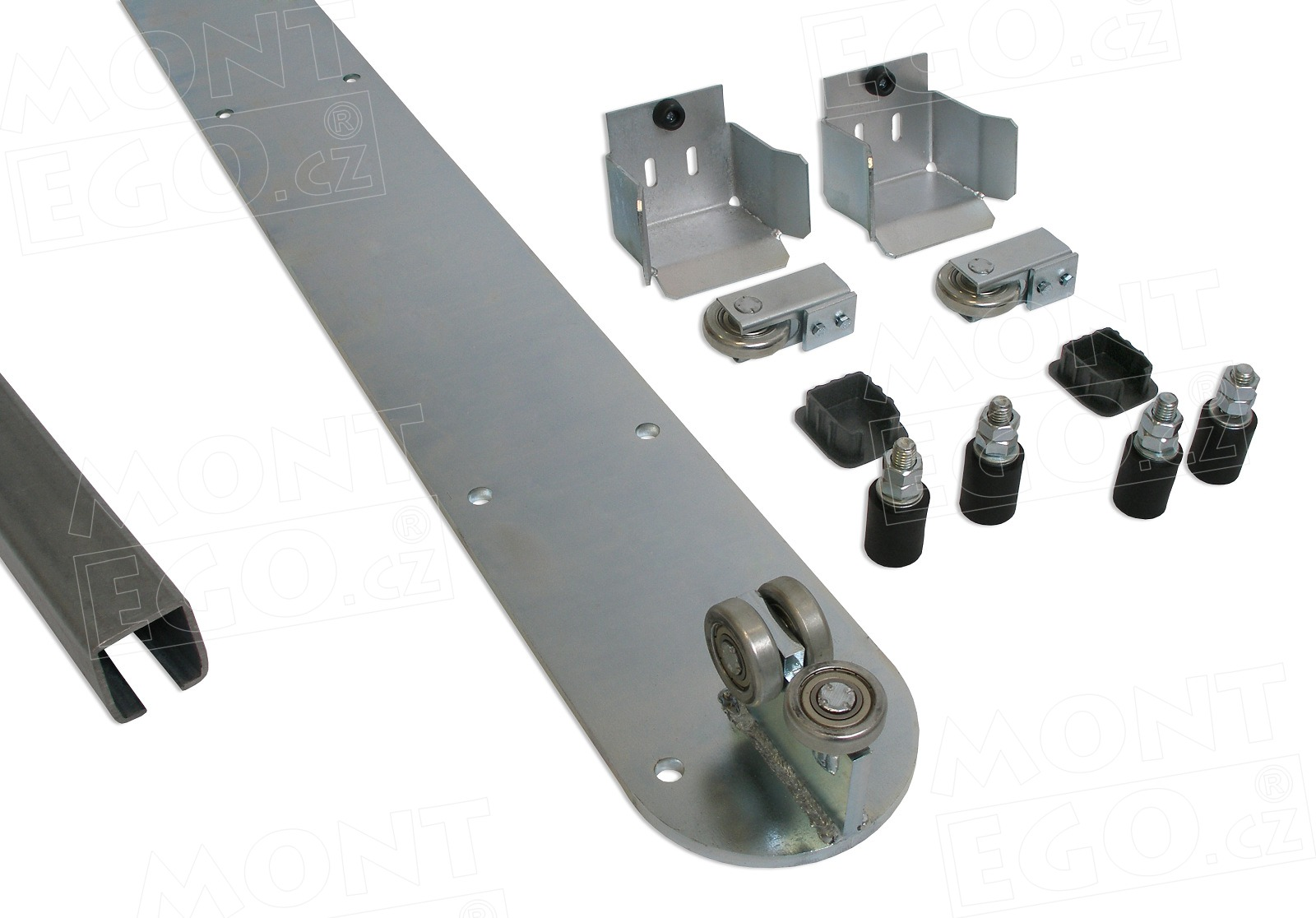 SK50.444+ plný set s komponenty pro výrobu samonosné pojezdové brány do 4,40 m