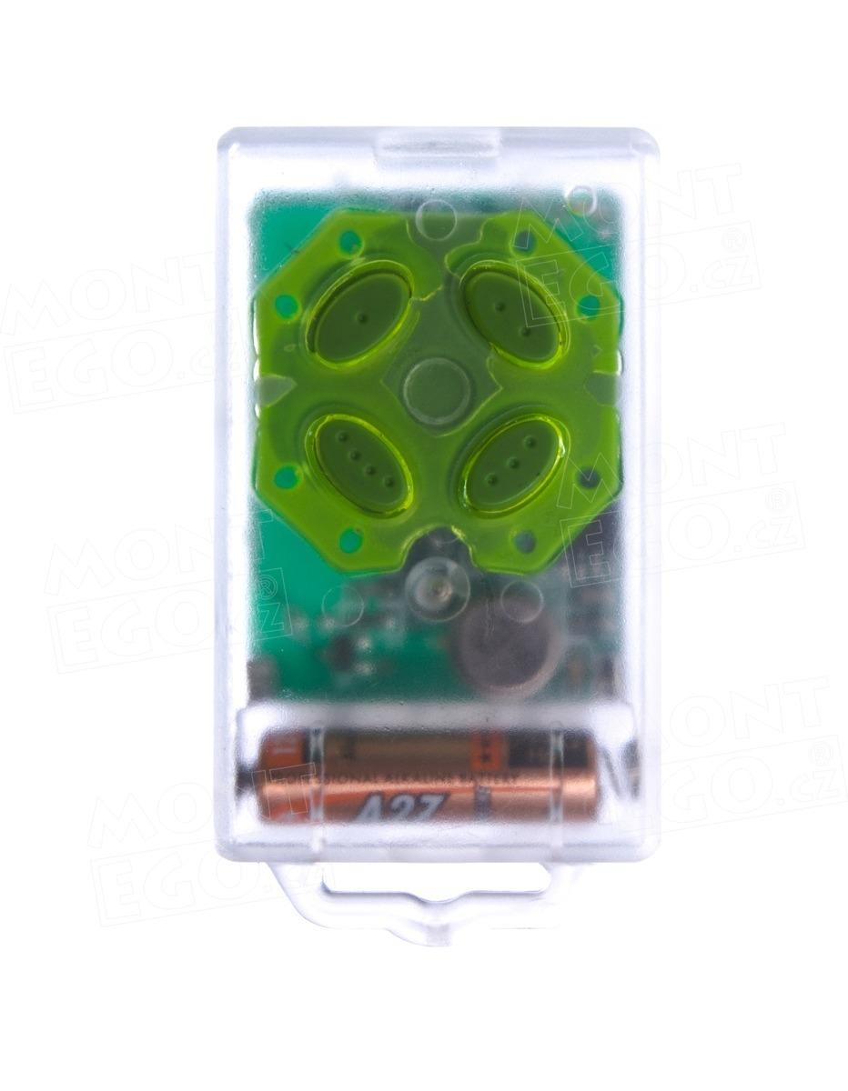 Dálkový ovládač TX300, 4 kanálový klíčenkový vysílač FLORA