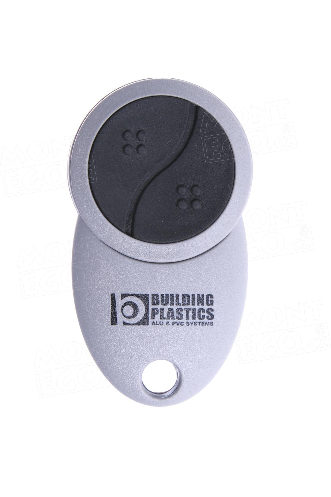 Dálkový ovládač na vrata Minirol, Teleco TVTXP868A02, 2 kanálový