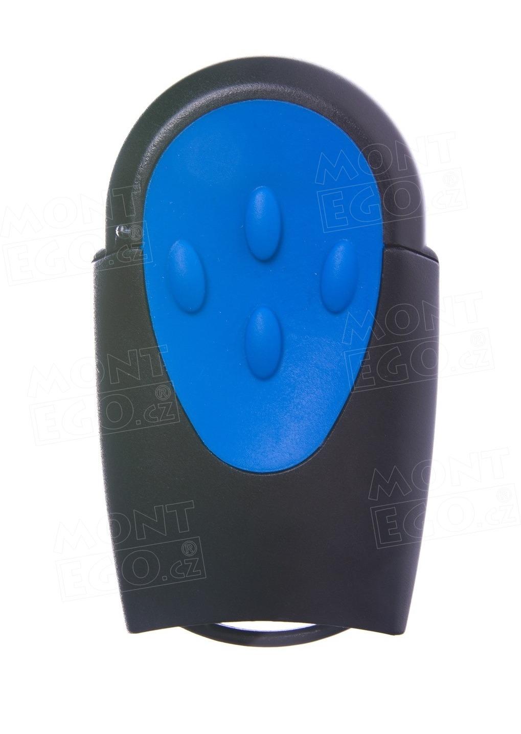 Dálkový ovládač na vrata Teleco TXR433A04, 4 kanálový dálkový vysílač