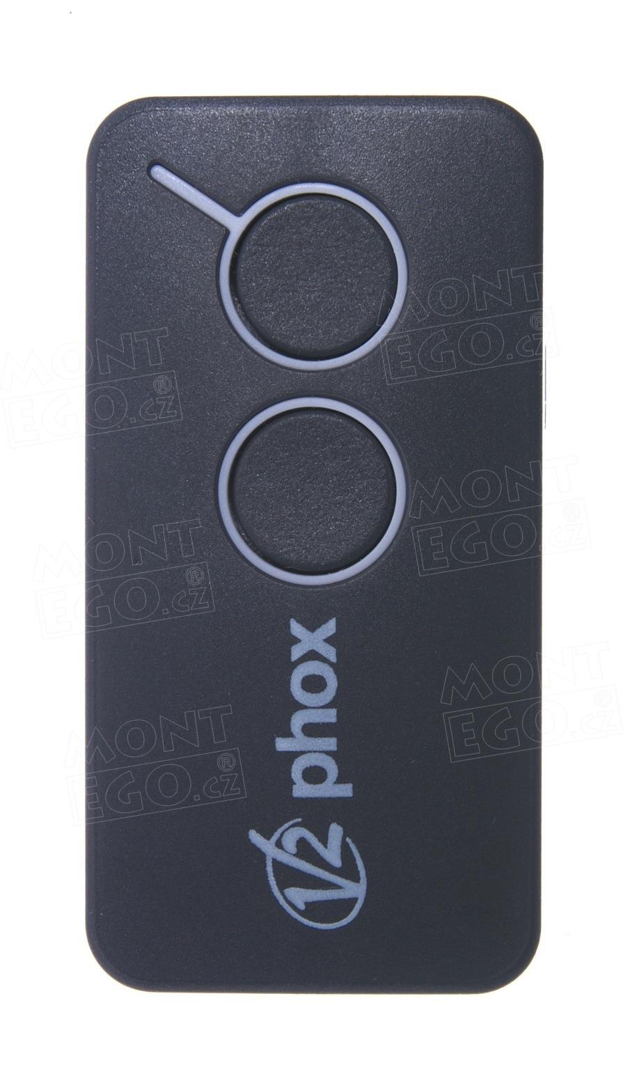 Dálkový ovládač V2 PHOX2-433, 2 kanálový dálkový ovladač V2 FOX2