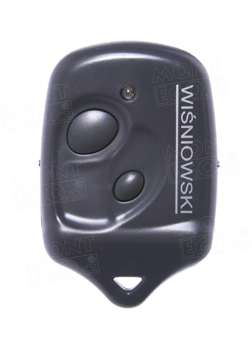Dálkový ovladač 2K433 pro pohony Wisniowski na garážová vrata a brány